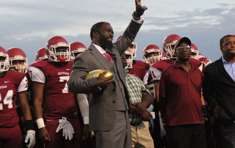 NFL Legend Ed Reed Returns to Destrehan High