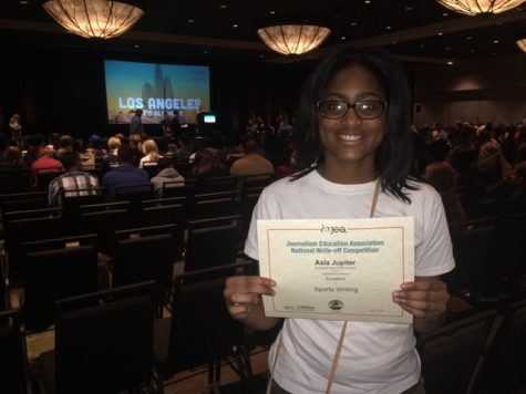 """Satellite Center and Hahnville Broadcasting Student Places """"Excellent"""" in National Sports Writing Contest"""