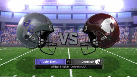 #9 John Ehret vs #1 Destrehan – LHSAA Playoff – November 25, 2016