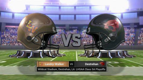 #5 Landry-Walker vs #1 Destrehan – LHSAA Playoff – December 2, 2016