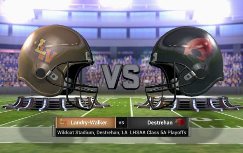 #5 Landry-Walker vs #1 Destrehan – LHSAA Playoff – December 2, 2016