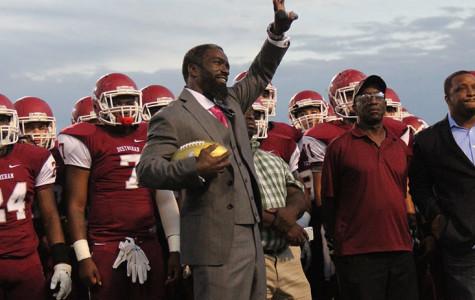 NFL Legend Ed Reed Returns to Destrehan High