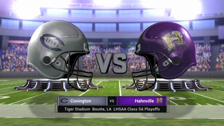 Covington+vs+Hahnville+Class+5A+Playoff+Football+Live+Broadcast